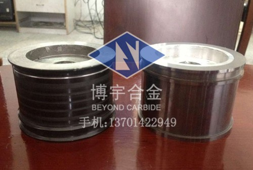 Tungsten carbide guide wheel